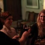 ...und die Gäste sind auch schon da. Jan Schomburg (Regisseur) mit den Schauspielerinnen Anna Rot und Magdalena Kronschläger