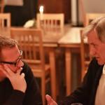 Sascha Keilholz und Rudolf Thome im Gespräch