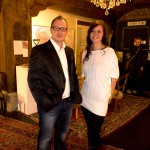 Sascha Keilholz und Gäste-Koordinatorin Sarah von Derschatta