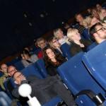 Erwartungsvoll wartendes Publikum