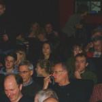 Das Publikum wartete gespannt auf den Gast des Tages: Christian Petzold.