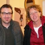 """Rouven Blankenfeld (Regie bei """"Lieben"""") und Birgit Schulz (""""Die Anwälte"""")"""