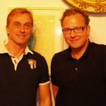 André M. Hennicke (Schauspieler bei Jerichow und Toter Mann) zusammen mit Festivalleiter Sascha Keilholz.