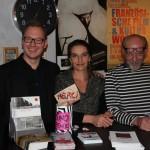 Festivalleiter Sascha Keilholz, Marianne Mion & Veranstalter Medard Kammermeier