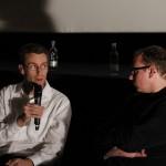 Christophe Fricker (Autor) und Sascha Keilholz (Festivalleiter) im Gespräch zu Drive
